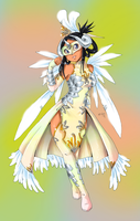 White Dragon Costume by Qvi