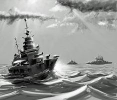 Wh40K: Naval Actions by StugMeister