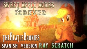 Sweet Apple Acres Forever - Cover Art (Spanish) by Alkaa-Wolf