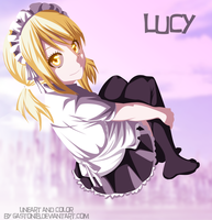 Lucy Maid  bijin by gaston18