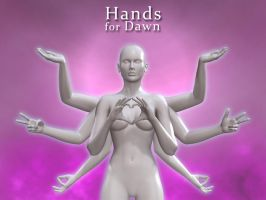 Hands for Dawn by ratorama