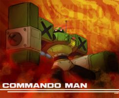 Commando Man, Destroy by AndrewDickman