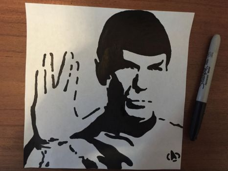 Spock TOS 50 Anniversary by Just-Another-Artisan