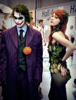 Joker and Poison Ivy by mysticdolleyesDior