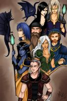 Night of the Dragon by Minelo