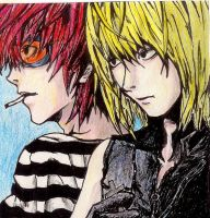 Matt and Mello are too cool. by with-aplomb