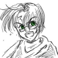 Angry Harry Potter by nyu