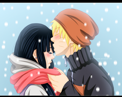 Sharing His Warmth (NaruHina) by kisi86