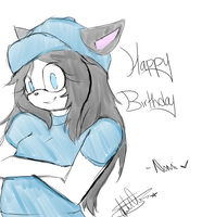 Happy LATE Birthday Milky by Xxninja-chickxX