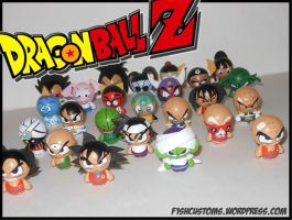 Dragonball Z Bok Choy Boy by F1shcustoms