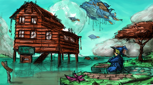 I Dream of Soup Houses and Whales by ZEroePHYRt