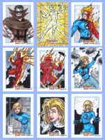 Fantastic Four Sketch Cards H by tonyperna