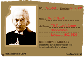 Doctor Who ID Card by Grimklok