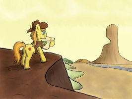 Braeburn and the Founding of Appleloosa by WerdKcub