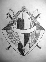 Crest Drawing 1 by EnforcedCrowd