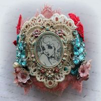 Assemblage Art Cuff - image 2 by asunder