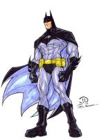 Batman markered pre-order sketch by JoeyVazquez