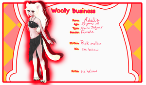 Wooly Business - Adalia by KujoSutefanii