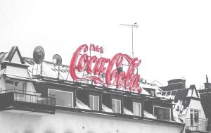 CocaCola Sign by PrincessAlbertSwe