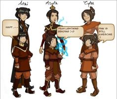 All grown up atla Style by Flamula