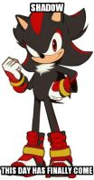 Shadow Sonic Boom by shadae53