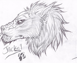 Vingate Jackel Sketch by Some-Art
