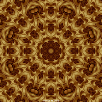 Rosace For A Fractal Cathedral by fraxialmadness3