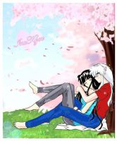 Cherry Blossom + Colors by MikoKikyou105