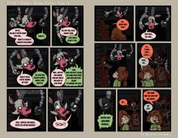 FNAF4 Comic - House Party - Page 15 - 7-1-16 by Mattartist25