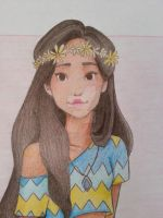 Pocahontas (Closeup) by Andrea365