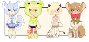 Set Price :: More More Random Adopts~ [ Closed ] by SireFluffButt
