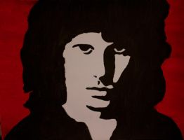 Jim Morrison by Floydbass14