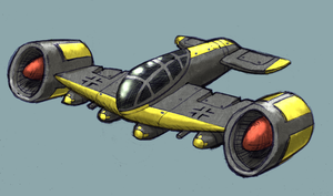 Aerodyne Bomber Concept by Relentless666