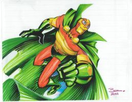 Mister Miracle by danablackarts