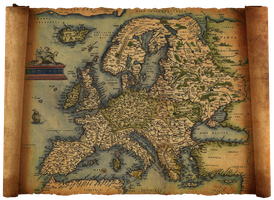 old europe map by hanciong