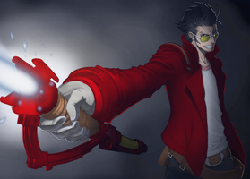 Travis Touchdown - No More Heroes by oldmartin