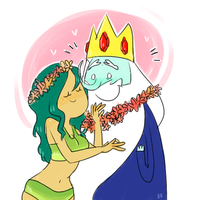 - Don't forget yo souvenir, Ice King! - by northpines