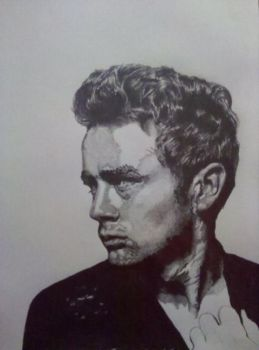 James Dean by greeny3815