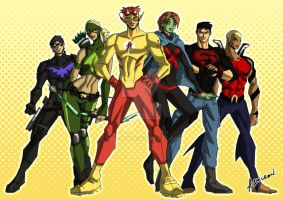 Young Justice by ADL-art