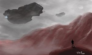 Exploration - Speed painting by trevorcorbin