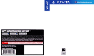 PS Vita Cover Template by AaronMon97