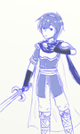 Enter the Fray! .:Marth:. by MetallicScales
