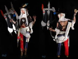 Final Fantasy XIV Realm Reborn Bard by Harker-Cosplay