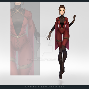 (CLOSED) Adoptable Outfit Auction 240 by JawitReen