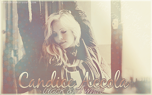 Candice Accola-black and white by franzi303