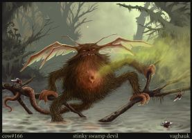 stinky swamp devil by Vaghauk
