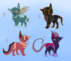 Adoptable Batch 2 CLOSED by Forumsdackel