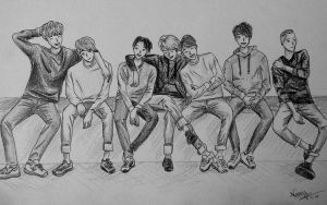 Bangtan Boys by Stormcloud16