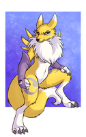 Renamon Escapes by AddictionHalfWay