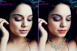 Vanessa Hudgens Makeup by headfirstfearless